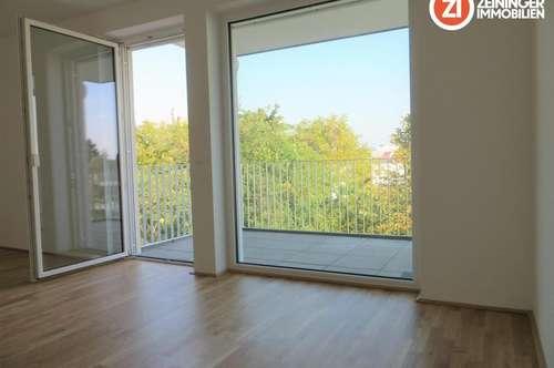 ACHTUNG! NEUER PREIS!Traumhafte Neubau 2 ZI-Wohnung mit Küche u. Balkon - Erstbezug
