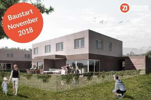 Familiengerechte Doppelhaushälfte in bester Infrastruktur - Gefördert - Baustart Nov.2018