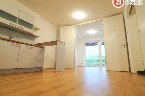 Gemütliche Zweiraumwohnung mit Küche und Balkon