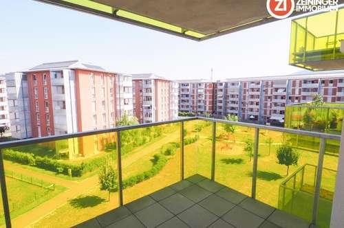 Teilmöblierte Mietwohnung inkl. Küche und Balkon!