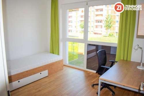 Top möblierte Balkonwohnung inkl. Küche