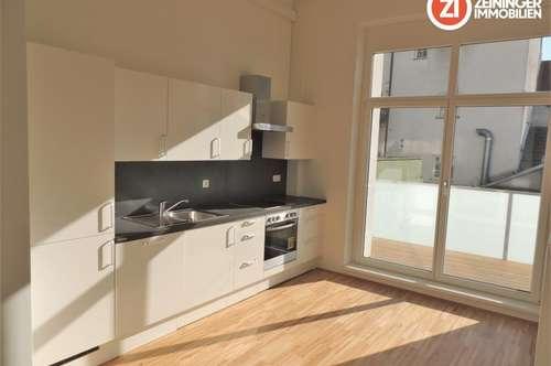 TOP 2 ZI-Terrassenwohnung am Ennser Hauptplatz - mit Küche - unbefristetes Mietverhältnis