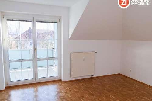 77 m² Dachgeschoßwohnung in absoluter Ruhelage