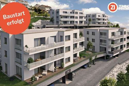 Baustart erfolgt - FRISCHLUFT_Gartenwohnung
