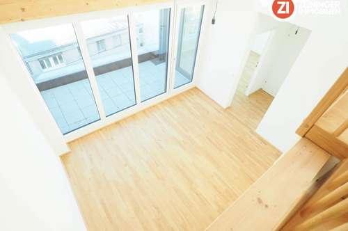 Herrliche Penthouse DG-Wohnung in Linz Urfahr - unbefristetes Mietverhältnis