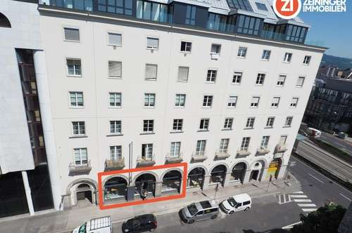Attraktives Geschäftslokal in Linz Urfahr - TOP Infrastruktur - Erstbezug nach Sanierung