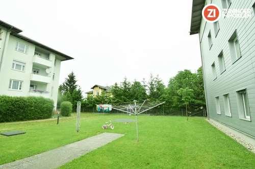 !Provisionsfrei! Geförderte Gartenwohnung mit Loggia und TG-Platz