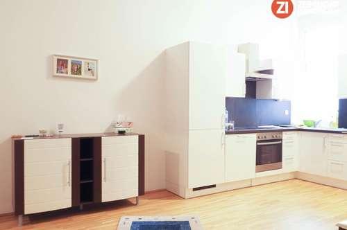 Teilmöblierte TOP 2 ZI-Wohnung am Ennser Hauptplatz - mit Küche - unbefristetes Mietverhältnis