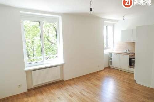 Gepflegte 2 ZI - Wohnung inkl. möblierter Küche