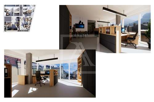 NEUBAU - Büro-/Praxisfläche im Zentrum zu vermieten - 66,7 qm im 1.OG