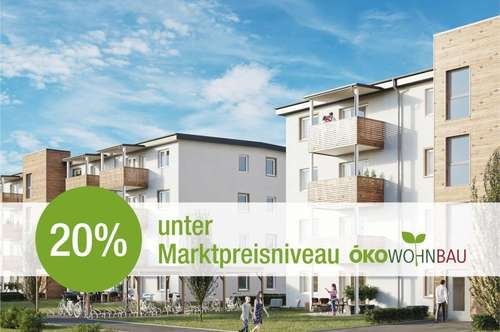 Über 20 % Preisersparnis zu vergleichbaren Vorsorgewohnungen!
