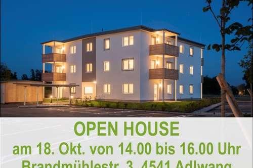 OPEN HOUSE am 18.10. von 14 - 16 Uhr