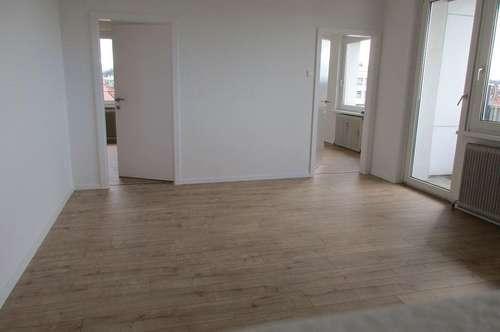 3 Zi.-Wohnung - zentrale Lage in Wels - hell und sonnig mit Fernblick