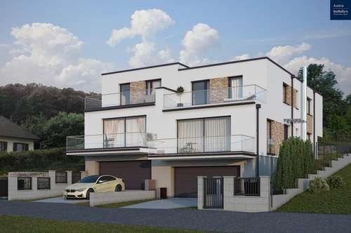 Neubau Doppelhaushälften in Wolfsthal