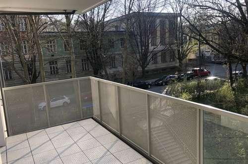 Gartenseitiger Balkon in Ruhelage mit Ensuite Badezimmer