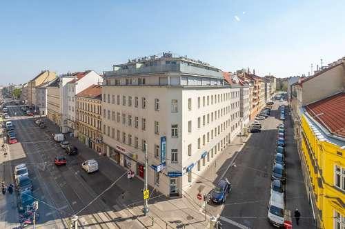 THALIASTRASSE: 2-Zimmer Wohnung mit südseitiger Loggia - sofort beziehbar - nahe U3 Ottakring