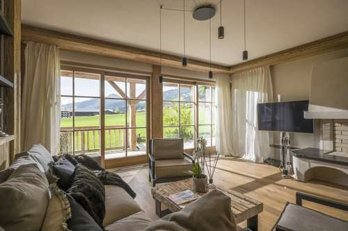 Alpine Suite   Elegantes 4-Zimmer-Apartment in der Kirchberger Bergwelt