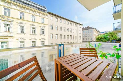 Helle 3-Zimmerwohnung mit Loggia/Balkon