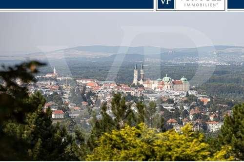 Einfamilienhaus mit Traumblick auf das Stift Klosterneuburg