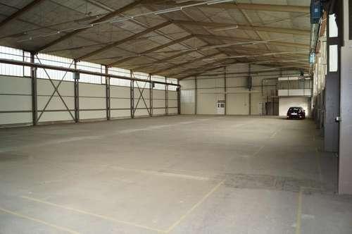 Lagerhalle mit 1568 m2 im Zentrum von Linz zu vermieten