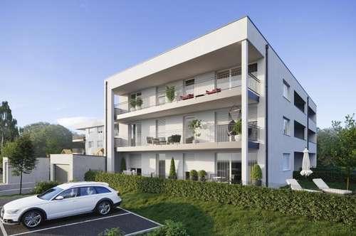 NEUBAUPROJEKT   18 schlüsselfertige WOHNUNGEN in LANGENSTEIN   2-Zimmer Wohnung mit Garten in LANGENSTEIN