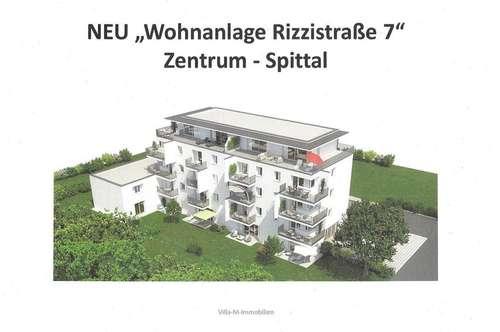 Tolle Neubau Stadtwohnung - Wohnanlage Rizzistraße 7 - Nähe Stadtpark