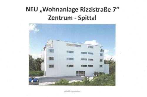 Sonnige Neubau Stadtwohnung - Wohnanlage Rizzistraße 7 - Nähe Stadtpark