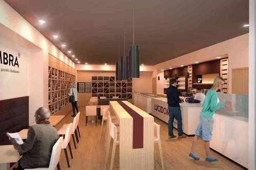Franchise Café - Wine Bar & Shop im Sillpark Shopping Center Innsbruck