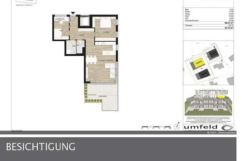 Geräumige Dreizimmerwohnung in Innsbruck-Hötting