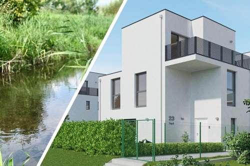 Am Wäldchen - Doppelhaushälfte mit 4 Schlafzimmern und 2 Bädern in Himberg