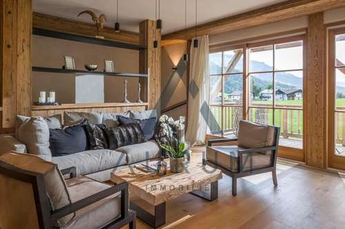 Exklusiv möbelierte Maisonettewohnung in Aussichtslage