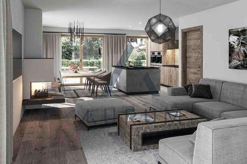 Neu: Exklusive Gartenwohnung im alpinen Stil