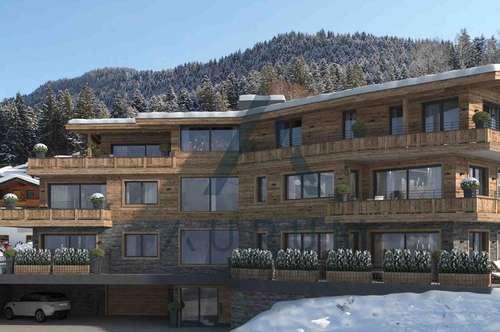 Designer-Wohnungen an der Piste mit Kaiserblick