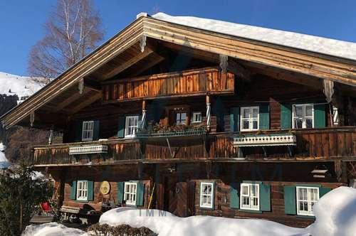 Original Bauernhaus in Pistennähe mit Freizeitwohnsitz