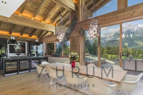 Luxus-Chalet mit atemberaubenden Kaiser Blick