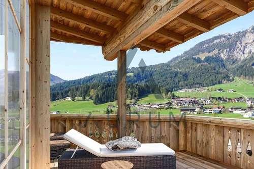 Neubau: Tiroler Landhaus mit Panoramablick