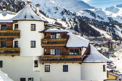 Ski-in Ski-out Appartements in Obergurgl für touristische Nutzung