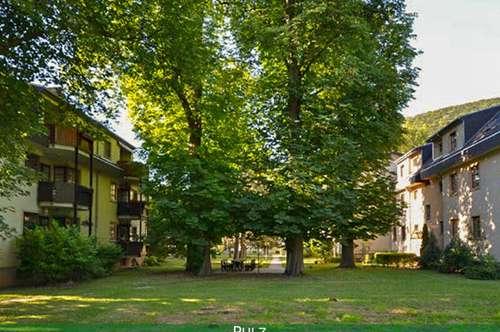4 ZIMMER MIT LOGGIA in sonniger, grüner Parkanlage