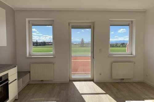 PROVISIONSFREI: Neu sanierte 2 Zimmer Wohnung mit Balkon | 1. Stock | Fernblick | Einbauküche