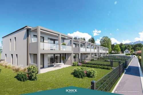 GARTENWOHNUNG | Wohnen an der Gail: Neubau - individuelle Raumplanung - Tiefgarage - Ruhelage
