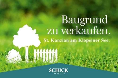 KLOPEINER SEE | Baugrundstück in St. Kanzian - ruhig, sonnig und schöne Umgebung