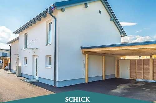 VILLACH-LIND | Neubau-Doppelhaushälfte mit Smart Home Ausstattung: Erstbezug - Garten - Doppelcarport