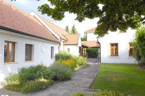 Großzügig angelegter Streckhof mit stimmungsvollem Innenhof