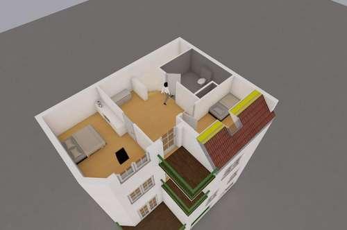 Maisonette-Wohnung mit HAUS-CHARAKTER. 4 Wohnebenen. Familien-Domizil auf 150m2 mit 3 Terrassen. Garage. Gartenmitbenützung.