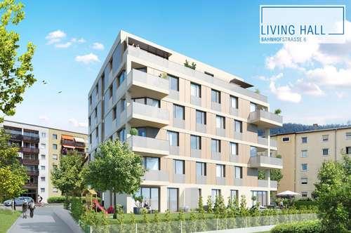 LIVING HALL Top 8 mit Süd-West-Ausrichtung und 4 Zimmern