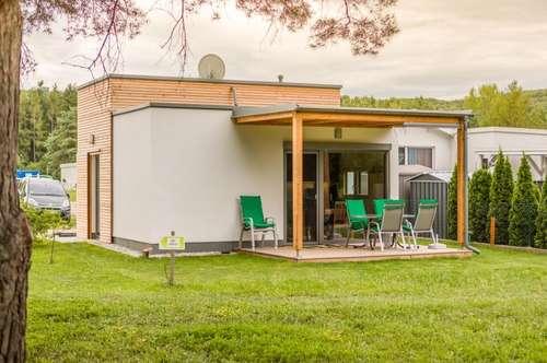 Holz-Ferienhäuser, Mobilheime der Extraklasse
