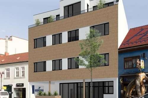 Lokal 65 m² mit Terrasse, Neubau im Zentrum vom Mattersburg
