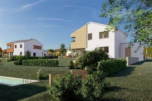 LARIX - KARDEA Familienhaus aus Holz, Wiesen/ Bad Sauerbrunn