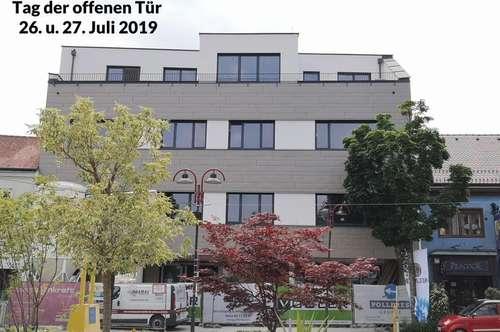 Mietwohnung 57 m² mit Terrasse, Neubau, Stadtmitte Mattersburg