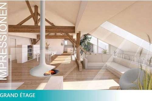 Dachbodenausbau - Penthouse über den Dächern von Schwaz
